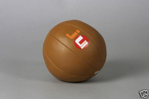 Medicina Ball 6kg de cuero de Ju Sports. fuerza, fitness, fuerza, resistencia