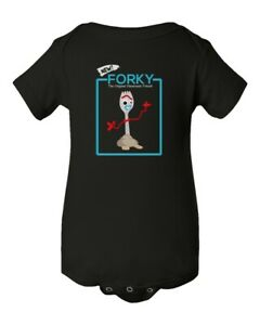 Funny New Forky Forkie Toy Story 4 Kids Girls Boys Toddler T-shirt