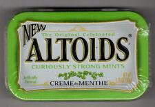 Altoids Factory Sealed Metal Tin - Creme de Menthe