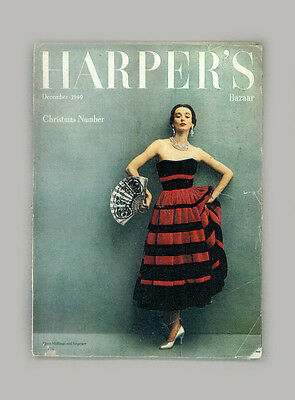 HARPERS BAZAAR BRITISH-DORIAN LEIGH-DECEMBER 1949-DIOR-RICHARD AVEDON-CHRISTMAS