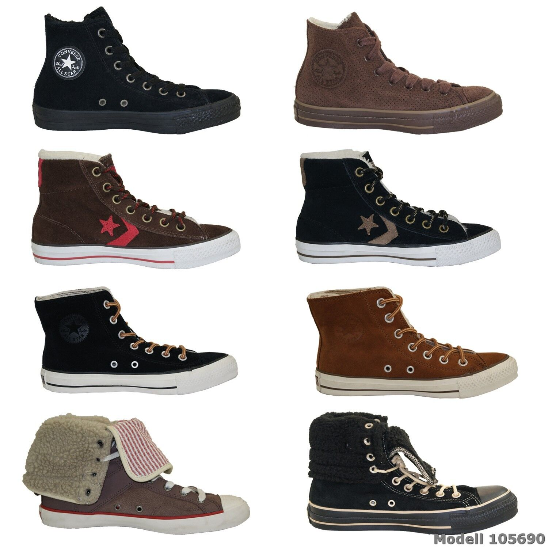 Converse señora All Stars High Top zapatillas Chucks Botas señores señora Converse invierno Zapatos  nuevo b3c5e8
