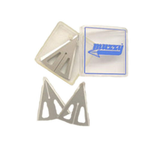 320 Muzzy 3-blade Replacement Blades for 225 225-R   Broadheads 100 Grain