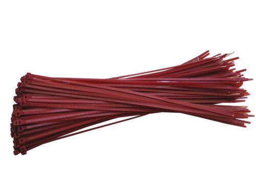 100 x fascette per cavi 4,8x370mm colore//DIV COLORI lieferb