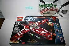 RETIRED Lego Star Wars 9497 Republic Striker Class Starfighter NIB New In Box