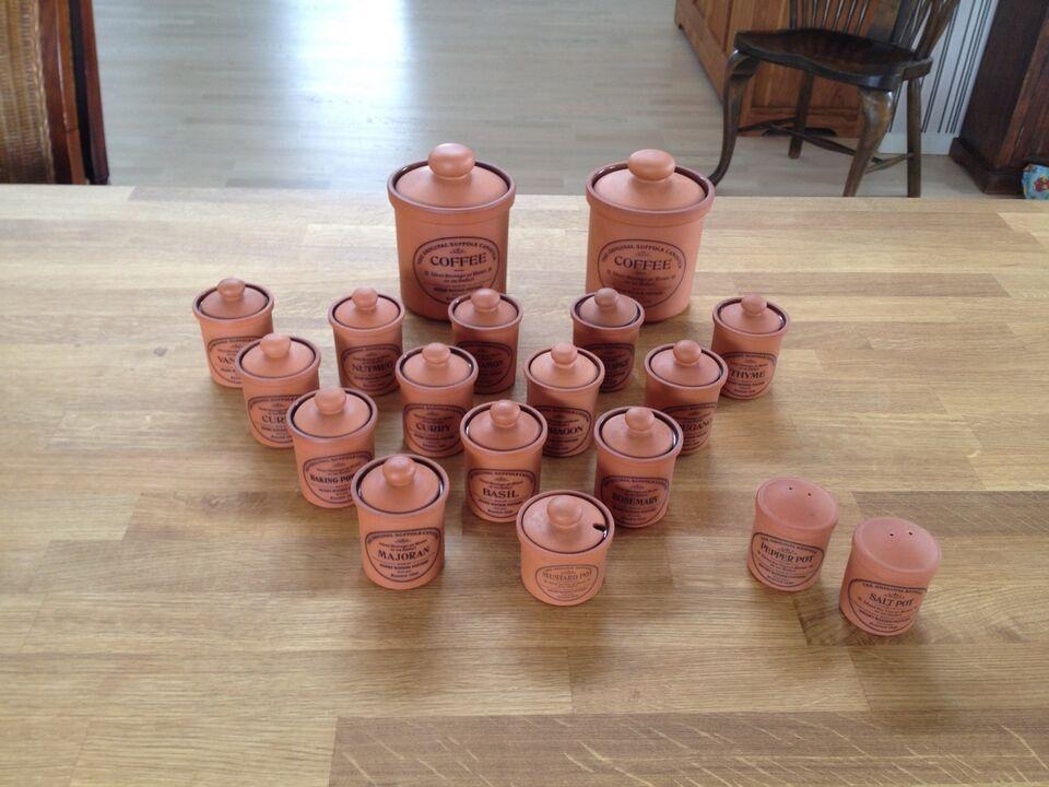 Keramik, Krydderikrukker, Henry Watson Pottery