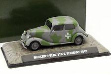 Mercedes-Benz 170 V Deutschland 1942 grau / grün 1:43 Atlas