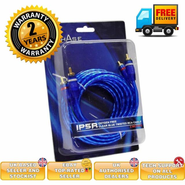 In Phase IP5R 5Metre Oxygen Free RCA Cable