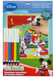 Disney Malset Mickey Maus Filzstifte Ausmalen Bilder Block Zeichnen Kinder Film Ebay