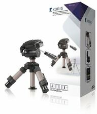 Konig Compact 23cm Small Mini Digital Camera & Camcorder Tripod (Pan & Tilt)