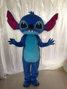 Lilo /& Stitch Mascot Costume Disney Dress Cosplay Adult Parade Halloween Outfits
