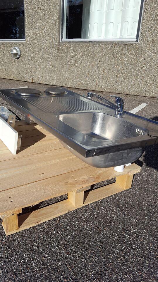 Håndvask med indbygget komfur