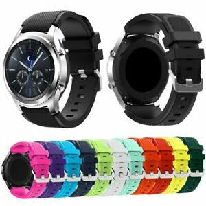 Silicon-Bracelet-montres-sangles-bande-Pour-Samsung-Galaxy-Gear-S3-Frontier-New