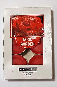 Duftteelicht-Teelichter-Rose-6-er-Packung-Kerze-von-Bolsius