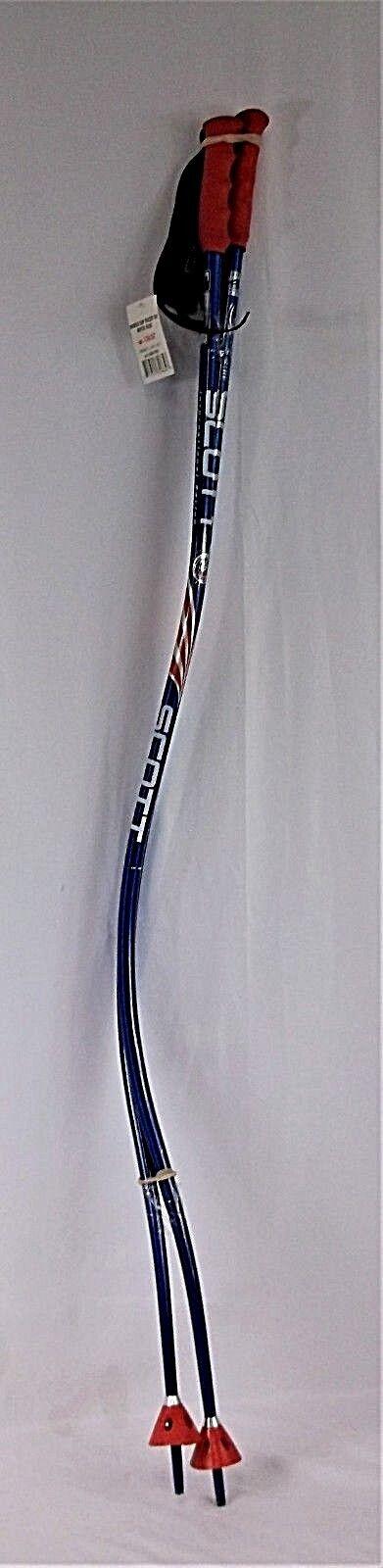 Down hill racing Ski poles, SCOTT Bent bluee Race poles sizes 44