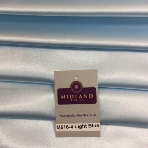 "Silky Smooth Japanese Premium Lightweight Satin  Dress Fabric 44/"" M616 Mtex"