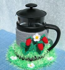 Coffee Cosy Harris Tweed French Press CAFETIERE Free Postage