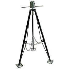 RV Steel 5th Fifth Wheel Tripod Stabilizer King Pin Box For Camper Motor Home