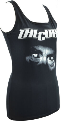 WOMENS TANK TOP THE CURE ROBERT SMITH 80s GOTH GOTHIC ROCK NEW WAVE PUNK S-2XL