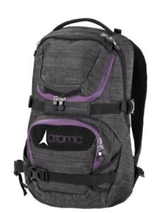 negro-Pink-al500157 Atomic Women Mountain back pack-señora-mochila-gris