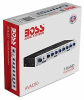 Boss Audio Ava1210 7-band Preamp Equalizer