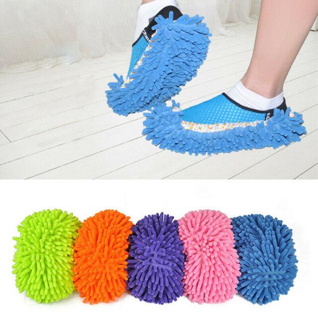GI- Am_ Multifunctional House Floor Polishing Dust Cleaning Mop Slipper Lazy Sho