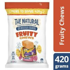 The Natural Confectionery Co. Fruity Chews Lollies Large Bag 420g