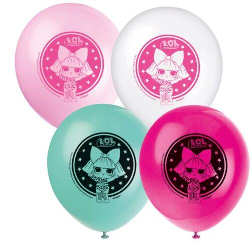 LOL SURPRISE LARGE GIANT FOIL Balloons Plain Latex Party Decoration Air Helium