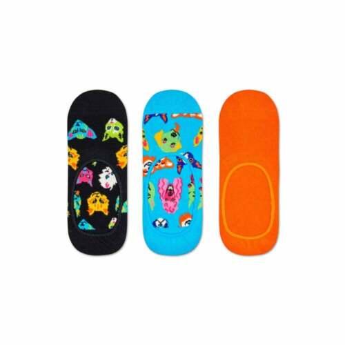 Azulado//Negro Happy Socks 2-pack Gatos /& Calcetines De Pescado Caja De Regalo