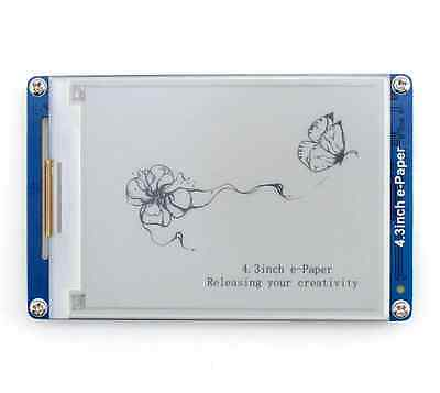 New 4.3inch 800×600 E Ink e-Paper LCD display moudle Support NandFlash SD