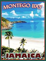 Montego Bay Jamaica Caribbean Islands Island Travel Advertisement Art Poster