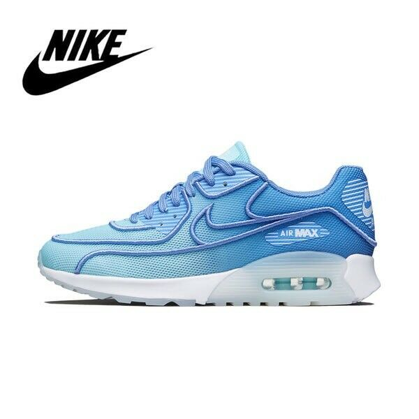 Nike Air Max 90 Ultra 2.0 BR Blue Polarize Blue 917523 400 Womens Sz 7.5 Mens 6