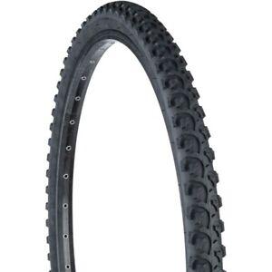 "Set of 2 26/"" x 2.125/"" Black Mountain Bike Tire Trail Bicycle"