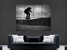 SKATE SKATEBOARDING HUGE LARGE WALL ART POSTER PICTURE PRINT