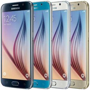 Samsung-Galaxy-S6-G920V-32-64-128GB-Verizon-GSM-Unlocked-AT-amp-T-T-Mobile