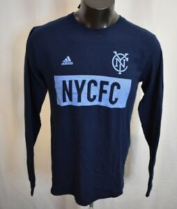 5fc8dd0b024 adidas MLS Mens New York City Football Club N.Y.C.F.C. Soccer Shirt ...