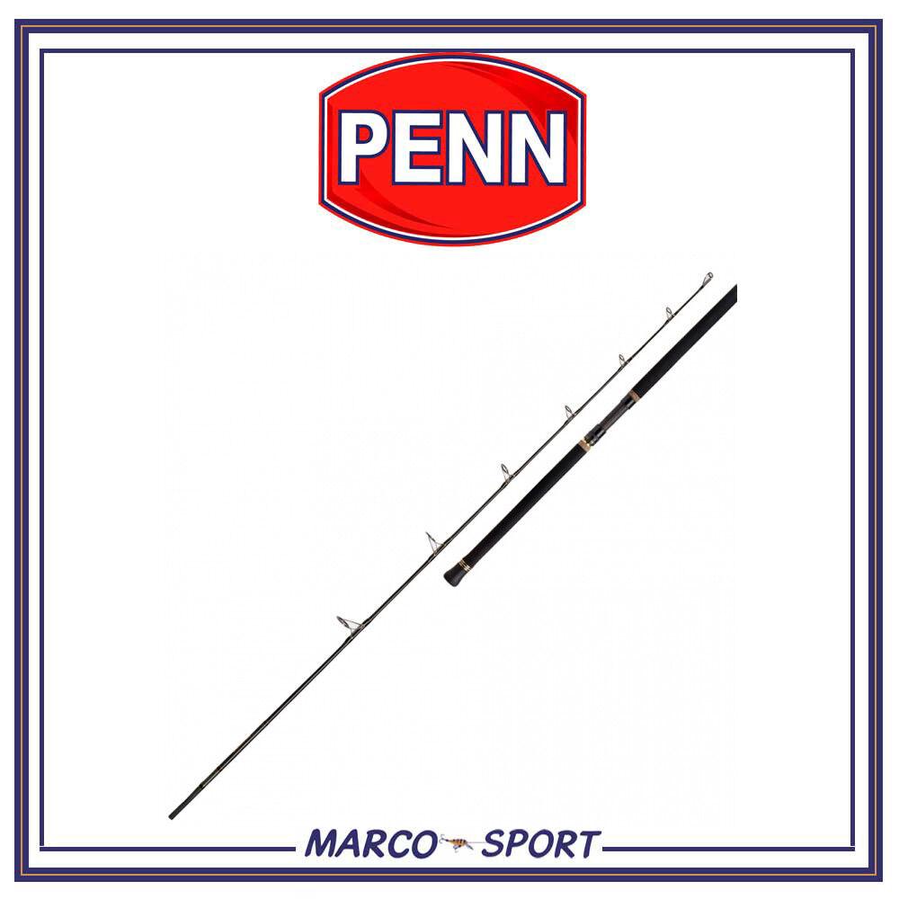 Canna da pesca Penn Regiment II Spin a spinning in Cochebonio 2.40m per barca mare