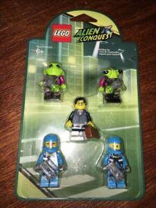 Headgear Head Top Lego  Olive Green Minifig Mutated Doctor O/'Neil HP#100