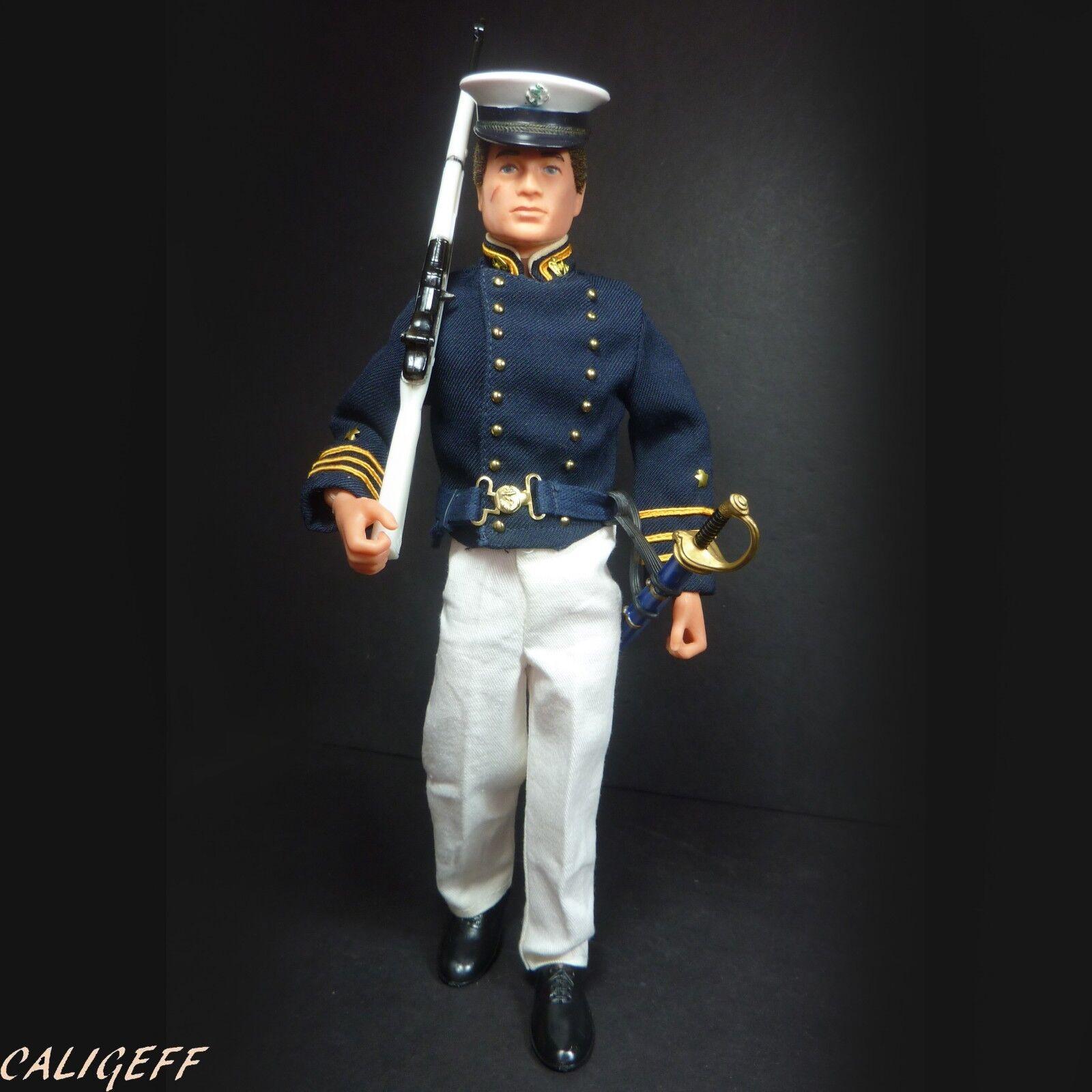 Vintage 1970's Action Team Annapolis Cadet - Action Man figure GI Joe