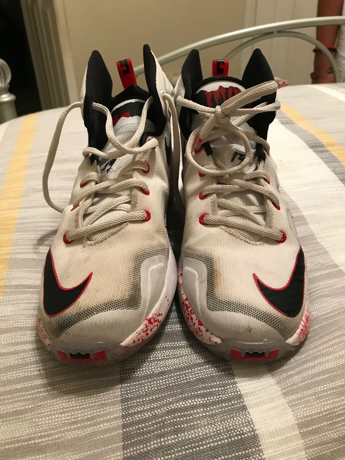 Nike Lebron Friday the 13th Horror Flick Size 5