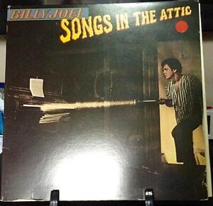 BILLY-JOEL-Songs-In-The-Attic-ALBUM-Released-1981-Vinyl-Record-Collection-US-pr