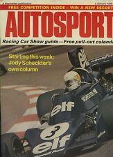 Autosport enero de 2nd 1975 * Roger Clark & MATRA MS 670 C *