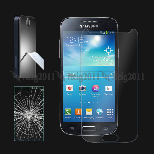 Premium Tempered Glass Film Screen Protector for Samsung Galaxy S 4 S4 Mini