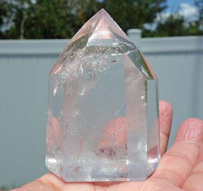 Ultra Water Clear Quartz Crystal Point Premium Quality Brazil Premium Quality