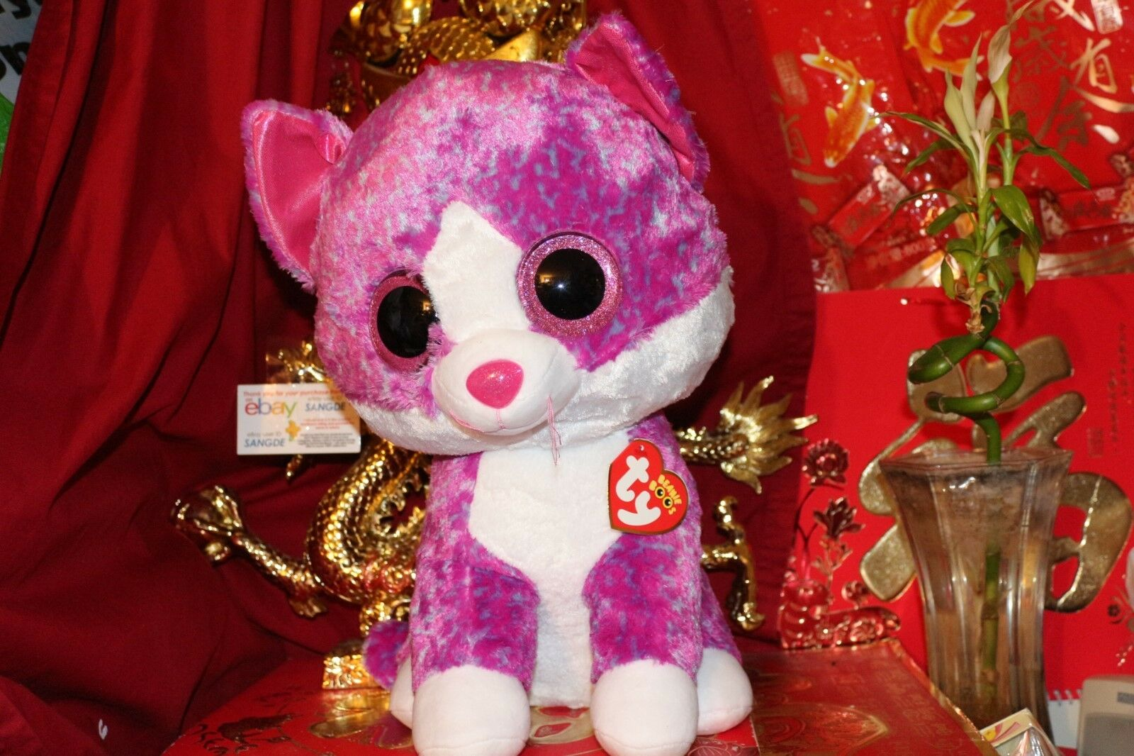 b901ac69cca TY BEANIE BOOS CHARLOTTE CHARLOTTE BOOS CAT.JUMBO.18 .CLAIRE S  EXCLUSIVE.2017