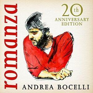 ANDREA-BOCELLI-Romanza-2016-20th-Anniversary-Edition-Remastered-CD-NEW-SEALED