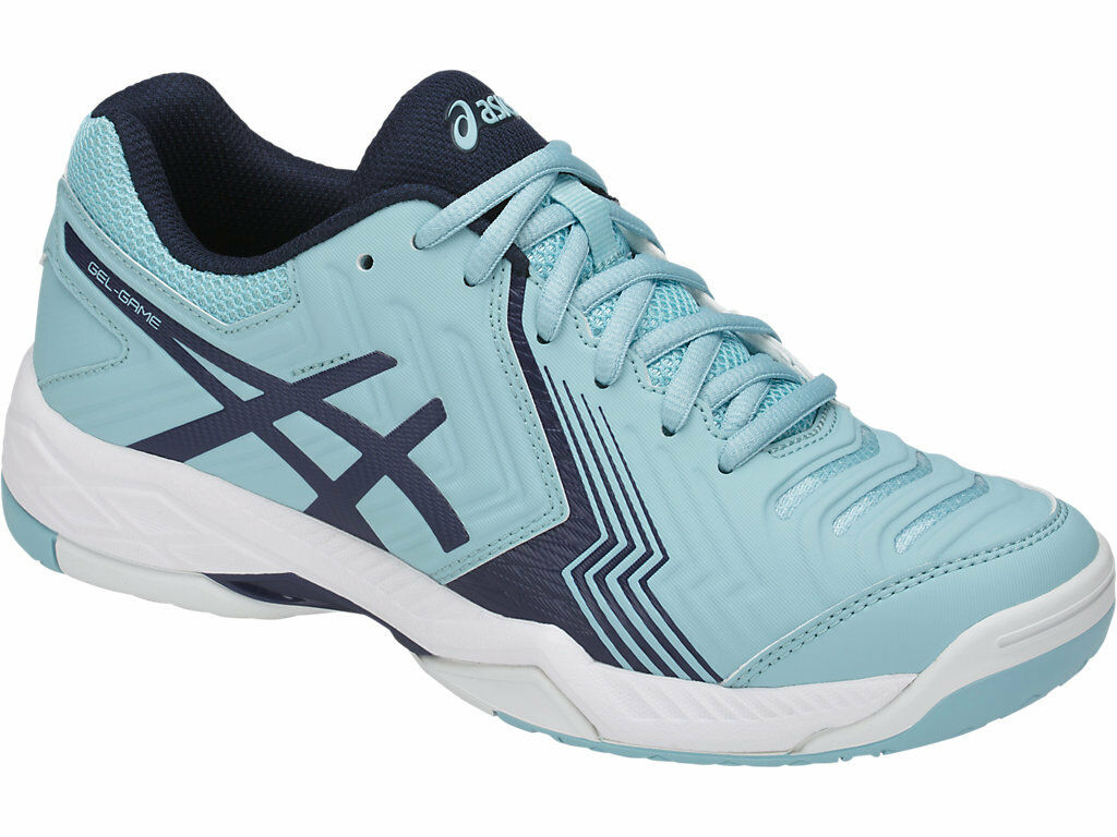 NEW Asics Gel Game 6 Womens Netball shoes (B) (1449)