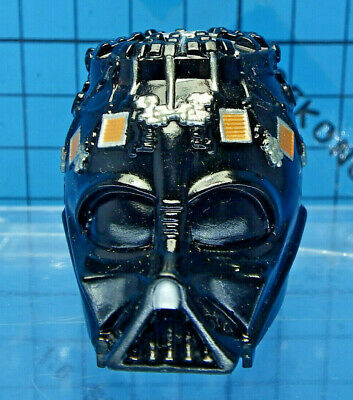 Medicom 1 6 Star Wars Revenge Of The Sith Darth Vader Figure Helmet Face Mask Ebay