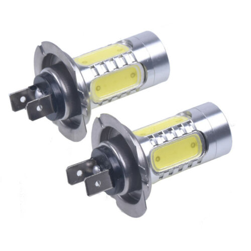 2pcs HID White H7 LED Bulb for Hyundai Genesis Accent Daytime Running Light