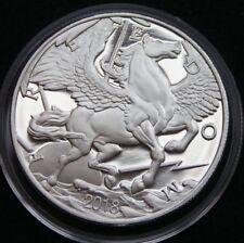 Pegasus 2018 Modern Ancients 1 Oz Silber ,999 Silbermedaille, Silberbarren