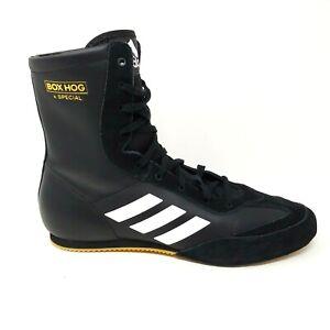 adidas Box Hog Plus Boxing Shoes Bianco Oro